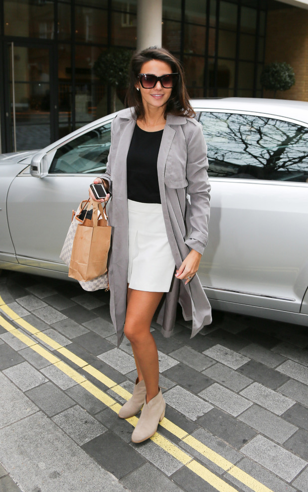 Michelle Keegan looks fabulous in her new collection at the Lipsy Press day (10 February)