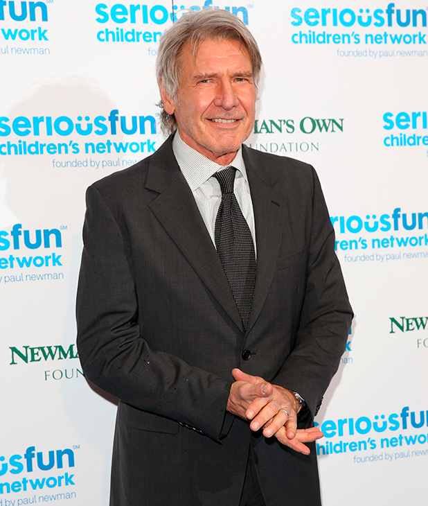 Harrison Ford at SeriousFun Children's Network - London 2014