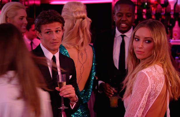 TOWIE: New girl Chloe Lewis and new boy Jake Hall arrive. Publicity still. Episode to air 8 March 2015
