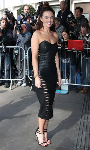 Hollyoaks star Jennifer Metcalfe at The Tric Awards 2015 - Arrivals - 03/10/2015.