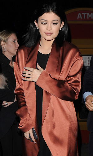 Kylie Jenner enjoys late night visit to the London Eye, 13 March 2015
