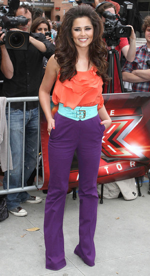 Cheryl Cole at the 'The X Factor' Auditions at Galen Center  - 08.05.11