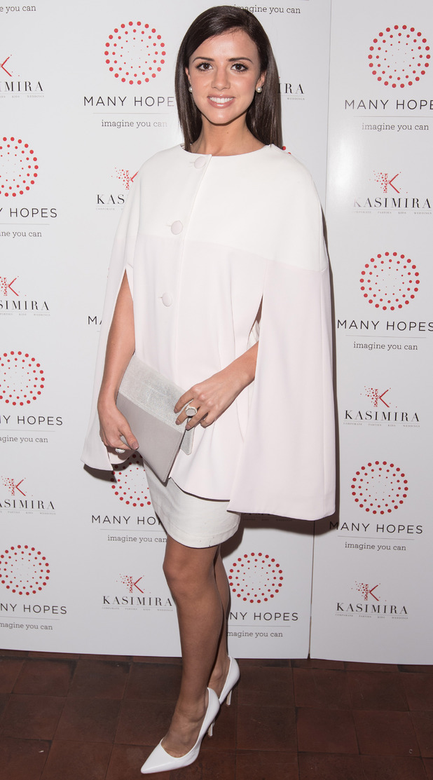 Lucy Mecklenburgh at Many Hopes London Banquet & Fashion Show, 12/3/15