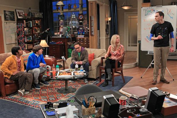 Big Bang Theory starring Kunal Nayyar, Simon Helberg, Johnny Galecki, Kaley Cuoco and Jim Parsons. 01/22/2015.