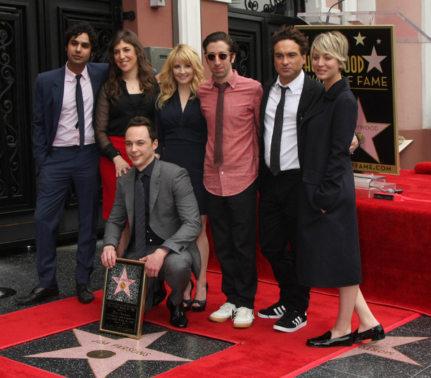 Big Bang Theory star Jim Parsons at the Walk of Fame Star Ceremony - 03/11/2015 - Los Angeles, United States.