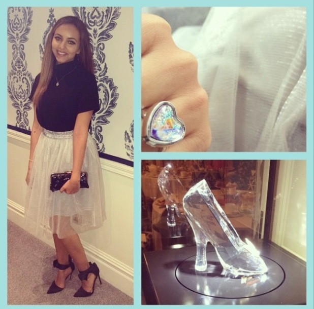 Little Mix's Jade Thirlwall's outfit for Cinderella screening