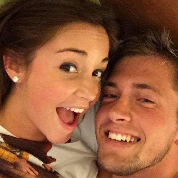 Dan Osborne and Jacqueline Jossa share happy selfie - 13 March 2015.