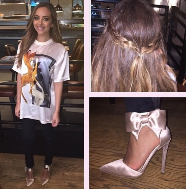 Jade Thirlwall showcases evening outfit in Dubai, Instagram 11 March