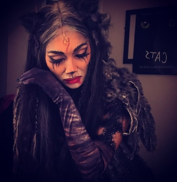 Nicole Scherzinger in character as Grizabella ahead of final Cats performance, Instagram 11 February