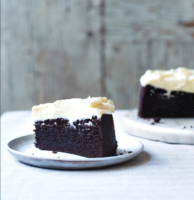 guinness cake recipe from Clodagh's Irish Kitchen cookbook