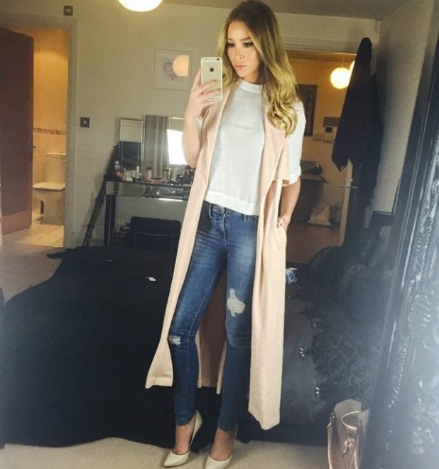 Lauren Pope's outfit, 11/3/15