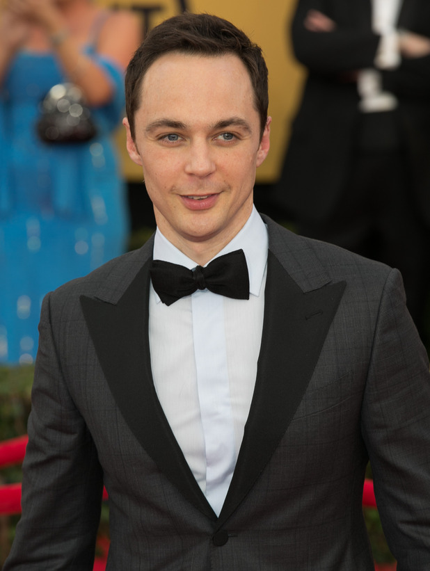 Jim Parsons attends the  21st Annual SAG Awards - Red Carpet at Los Angeles Shrine Exposition Center. 01/22/2015.