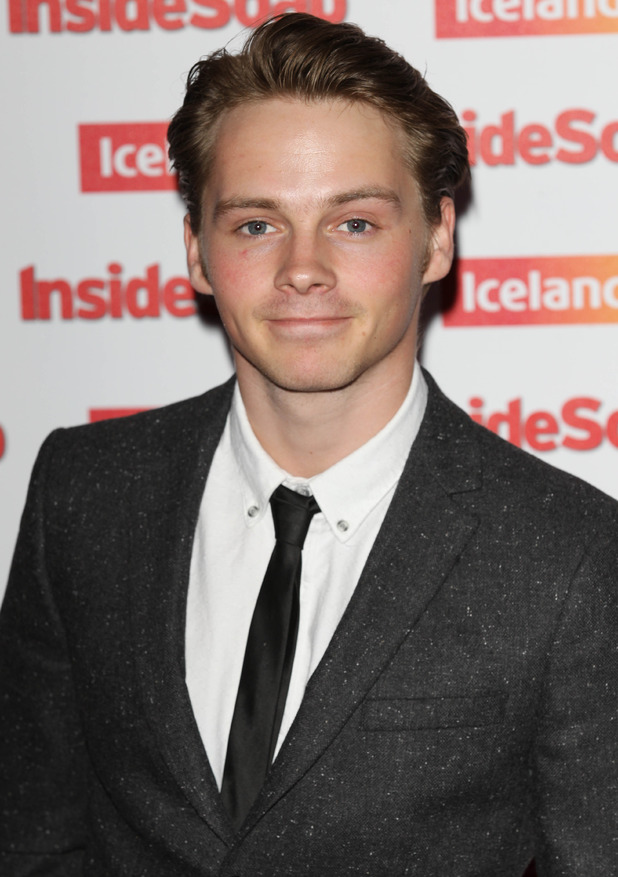 Sam Strike at the Inside Soap Awards, London, Britain - 01 Oct 2014.