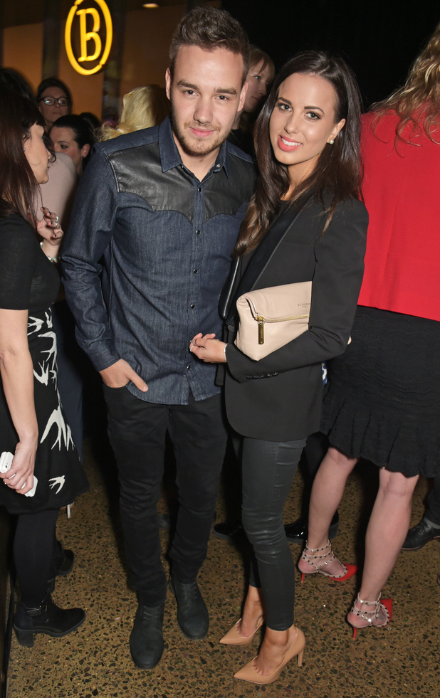 Liam Payne and Sophia Smith attend a party hosted by Instagram's Kevin Systrom and Jamie Oliver on March 9, 2015 in London, England.