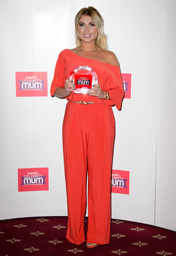Billie Faier is IceLolly.com's Celebrity Mum of the Year, 2015