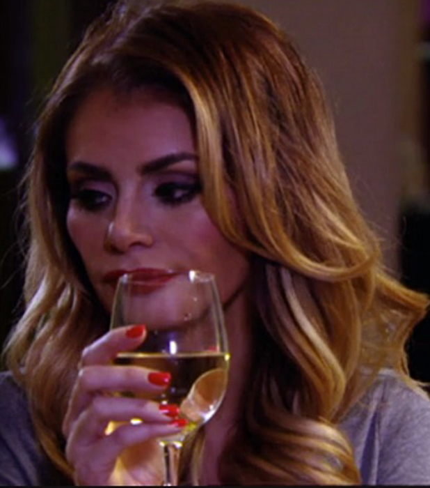 TOWIE's Chloe Sims sends text message to Charlie on episode 8 March 2015