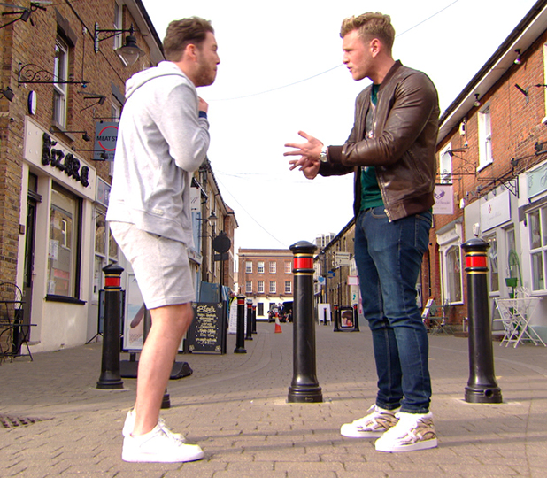 TOWIE episode to air 15 March 2015: Diags accuses Tommy of cheating on Georgia
