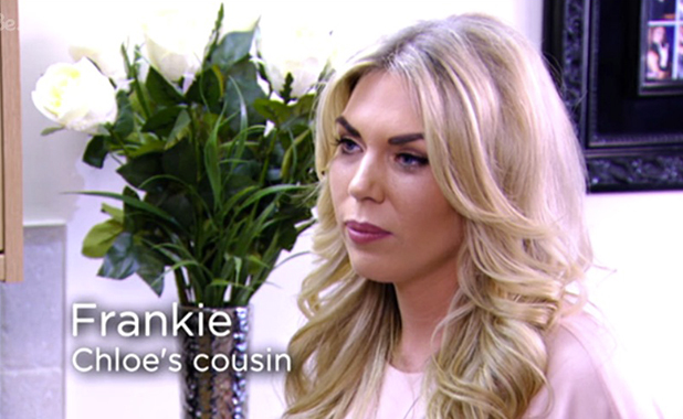 TOWIE episode aired 11 March 2015: Frankie returns to support Chloe