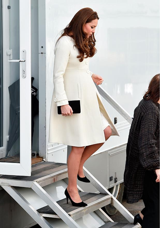 Catherine Duchess of Cambridge visits Ealing Studios, London, Britain - 12 Mar 2015