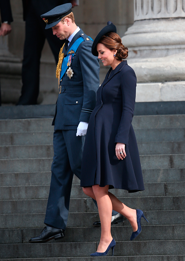 Kate Middleton, Service of commemoration at St Paul's Cathedral to mark end of the Afghanistan war, 13 March 2015