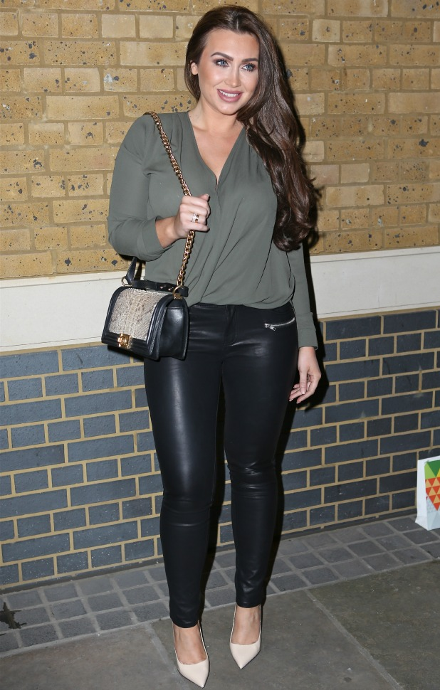 Lauren Goodger attends the exclusive launch of new social networking site. Held at Ham Yard Hotel, London, 10 March 2015