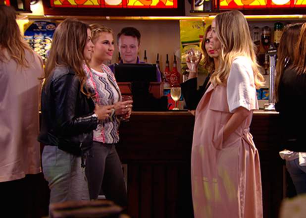 TOWIE episode to air 15 March 2015: Chloe cries after confronting Jake about Lauren. She later meets Lauren and becomes involved in fight between Jake, Lauren and Ferne.