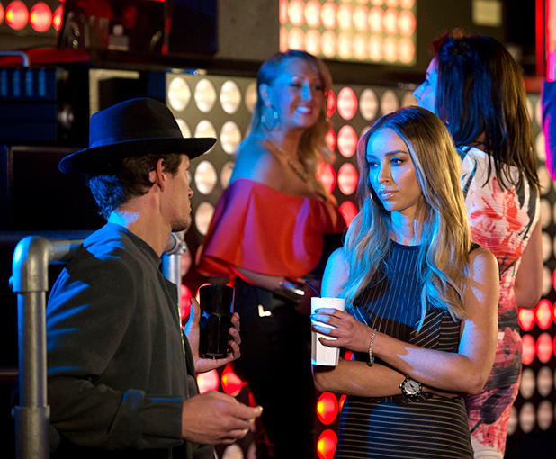 Lauren Pope and Jake Hall The Only Way is Essex' cast filming, Circuit Nightclub, Romford, Britain - 08 Mar 2015