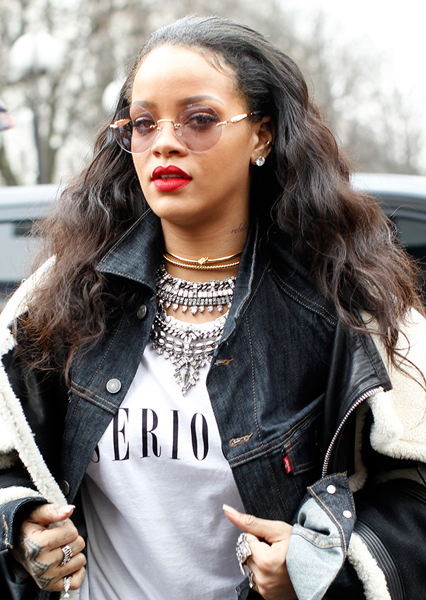 Rihanna out and about in Paris, 9 March 2015