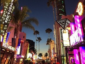 LA CityWalk from Pixie Lott's Instagram, 9/3/15
