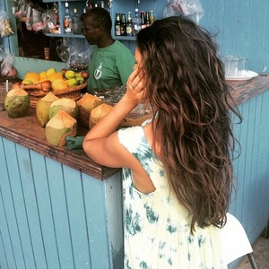 Michelle Keegan on holiday in St Vincent, Caribbean 16 March
