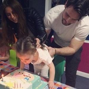 Una Foden celebrates daughter Aoife-Belle's third birthday, Instagram 15 March