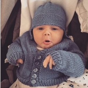 Una Foden shares photos of six-week-old son Tadhg, Instagram 14 March