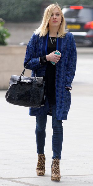 Fearne Cotton arrives outside Radio 1, BBC Studios, London 18 March