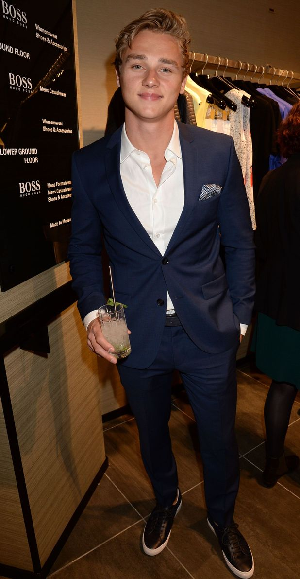 EastEnders' Ben Hardy at the BOSS Store opening, London, Britain - 19 Mar 2015.