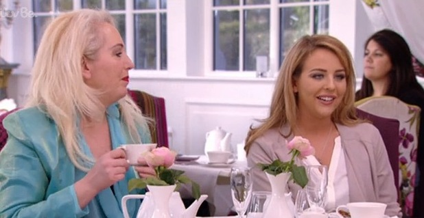 Lydia Bright speaks about the new man in her life while enjoying afternoon tea with her mum Debbie Douglas - 15 March.