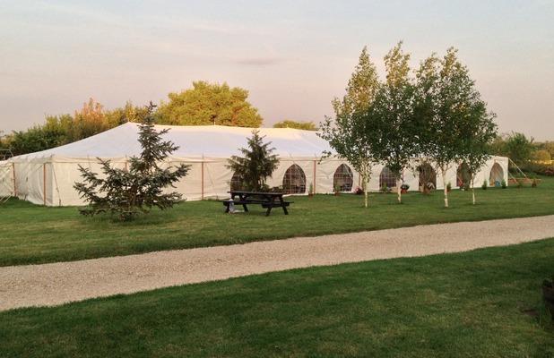 Huntsmill Farm wedding venue, Buckinghamshire