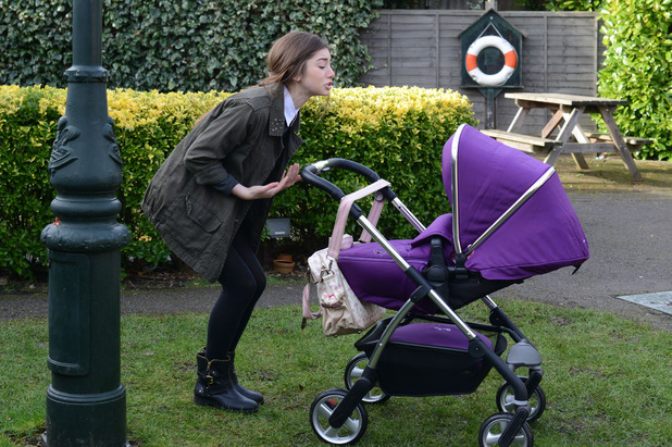 EastEnders, Cindy leaves Beth, Tue 24 Mar