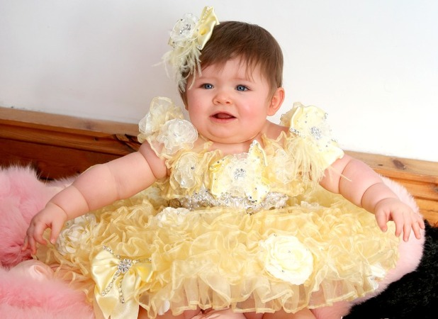 Witney Rowland, The baby with a £30,000 wardrobe