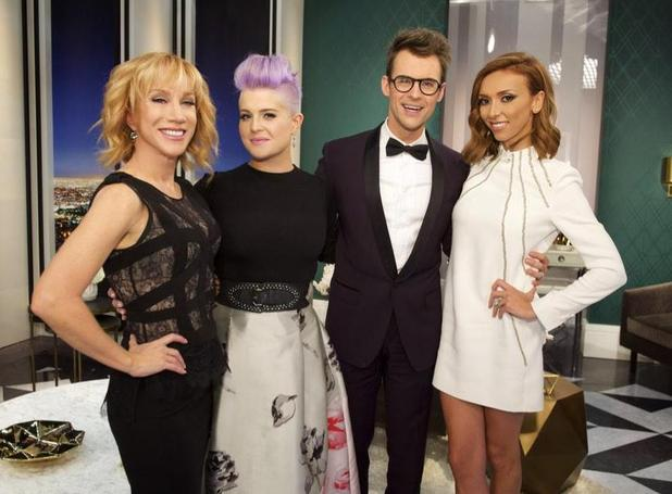 Fashion Poilce co-hoss: Giuliana Rancic, Brad Goreski, Kelly Osbourne, Kathy Griffin - 24 February 2015.