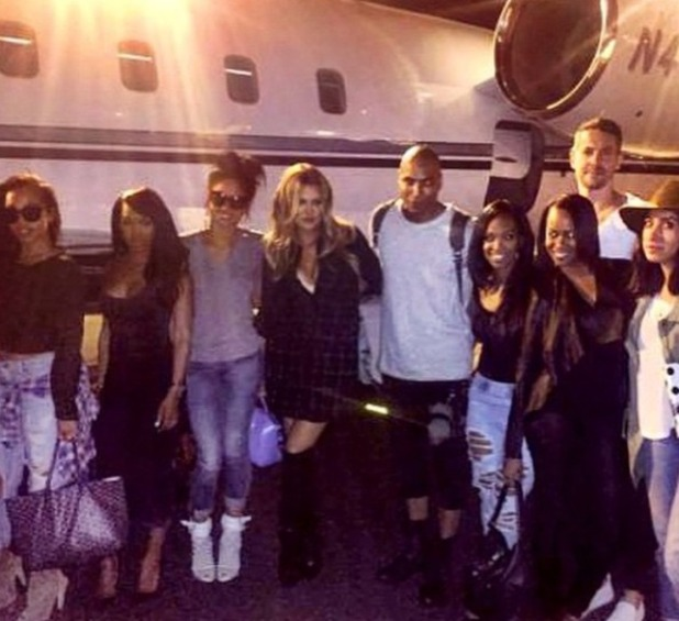 Khloe Kardashian hosts 1OAK party, 20 March.