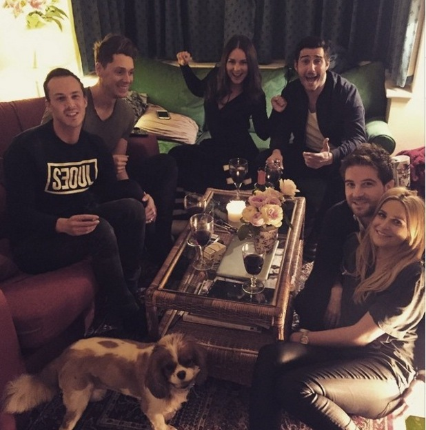Binky Felstead plays host to her Made In Chelsea co-stars, Instagram 18 March