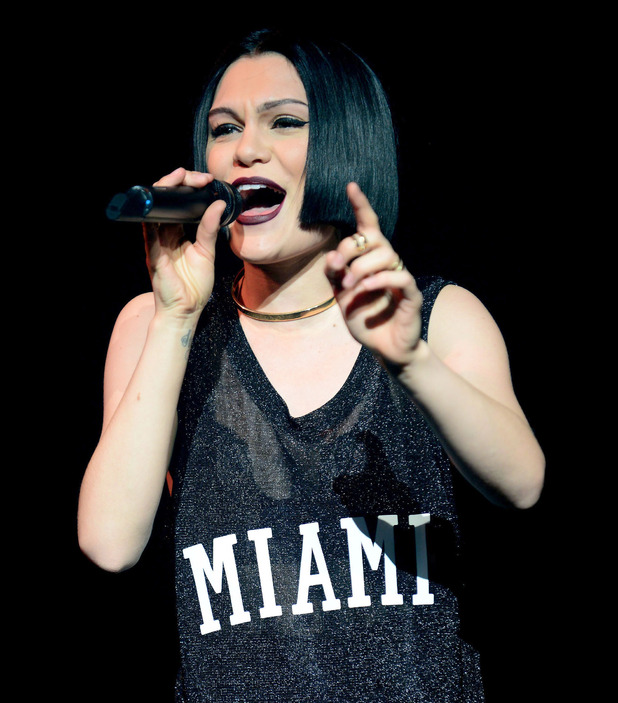 Jessie J performs live at Fillmore Miami Beach - 15 February 2015.