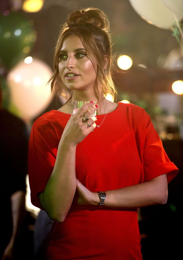 The Only Way is Essex's Ferne McCann filming St.Partricks Day episode in Stanford Le Hope, Essex - 15 March 2015.