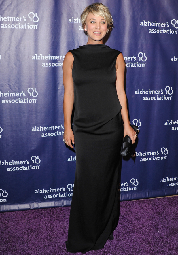 Kaley Cuoco attends 'A Night At Sardi's', Alzheimer's Association event, LA 18 March