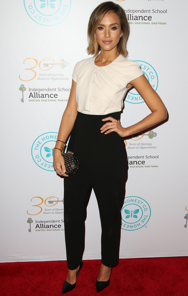 Jessica Alba at The Independent School Alliance For Minority Affairs Impact Awards Dinner, 16/3/15
