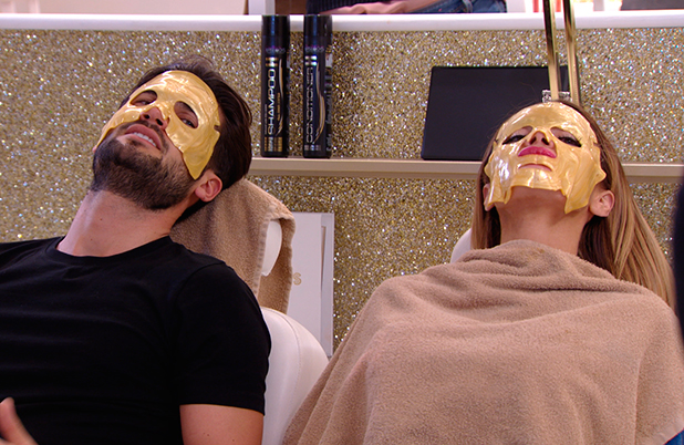 TOWIE episode airing 21 March 2015: Chloe and Dan E get face masks