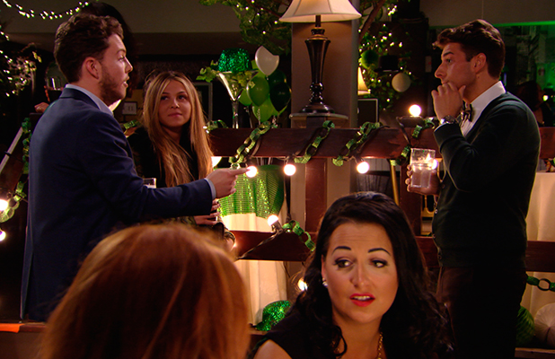 TOWIE episode to air 18 March 2015: Diags talks to Arg