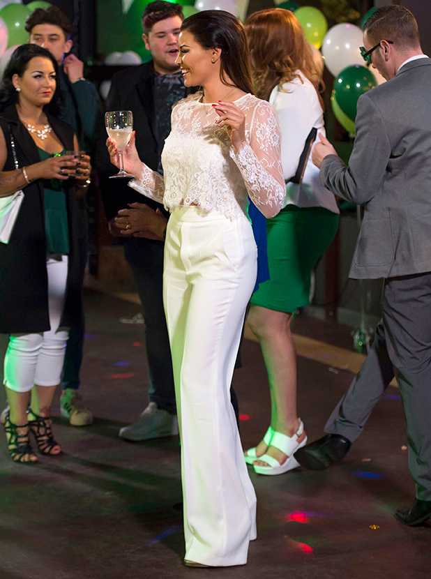 'The Only Way is Essex' cast filming, Britain - 15 Mar 2015 Jessica Wright