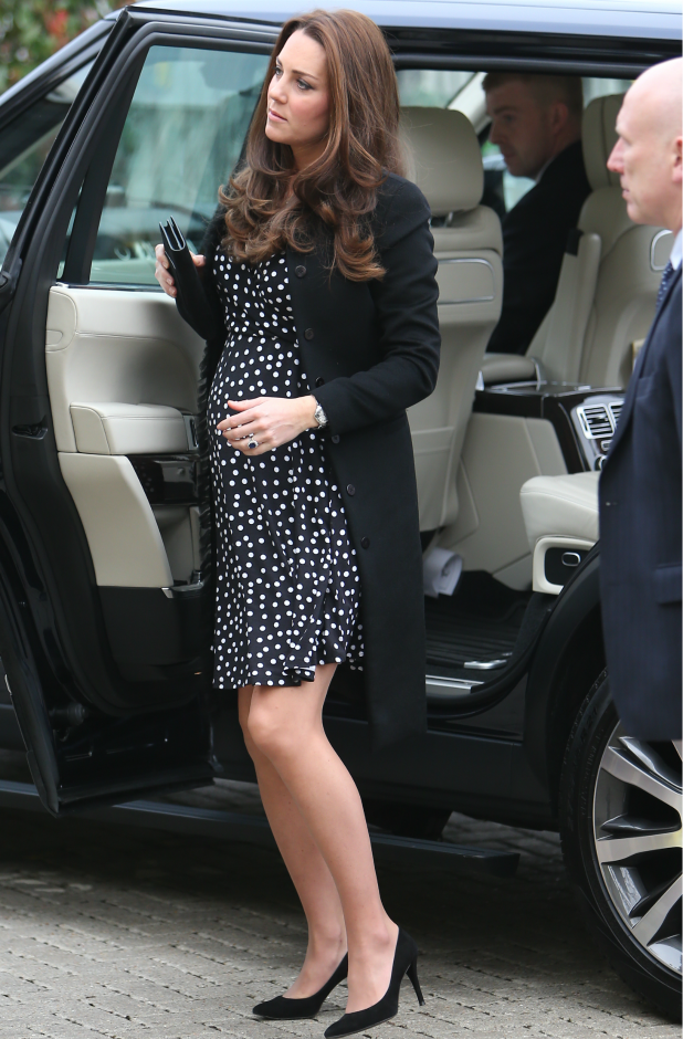Catherine, Duchess of Cambridge visits the Brookhill Children's Centre in Woolwich, 18 March 2015