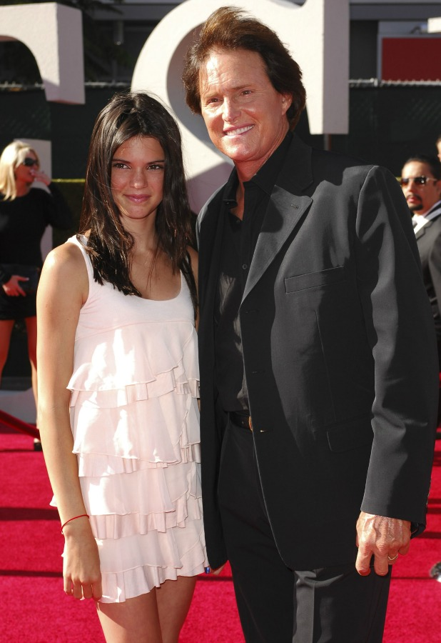 Bruce Jenner and daughter Kendall Jenner The 2009 ESPY Awards - Arrivals Los Angeles, California - 15.07.09